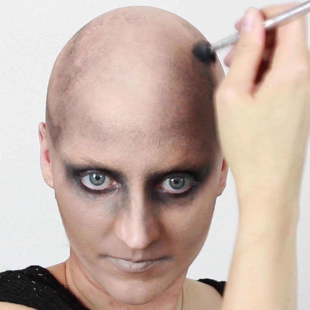 Mad Max Makeup: Bald Cap
