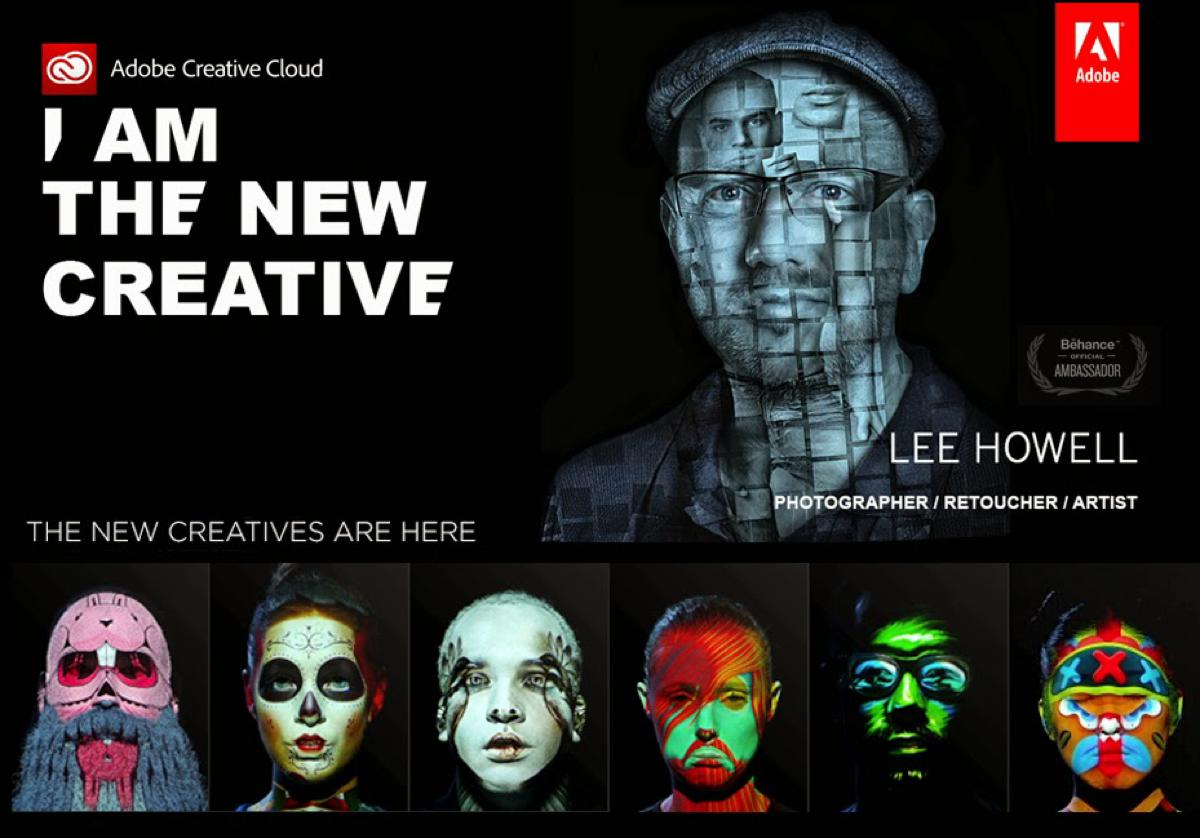 "Adobe ""I am the new creative"""