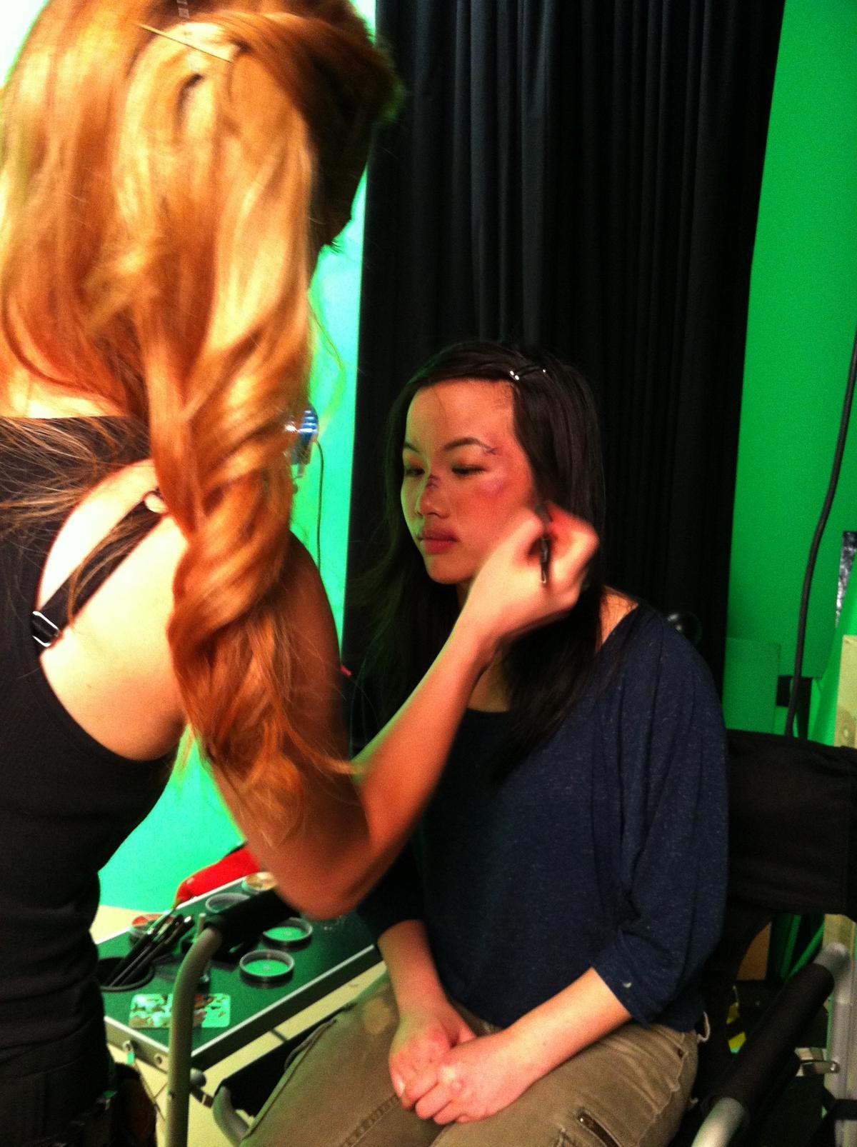 SFX BTS Makeup