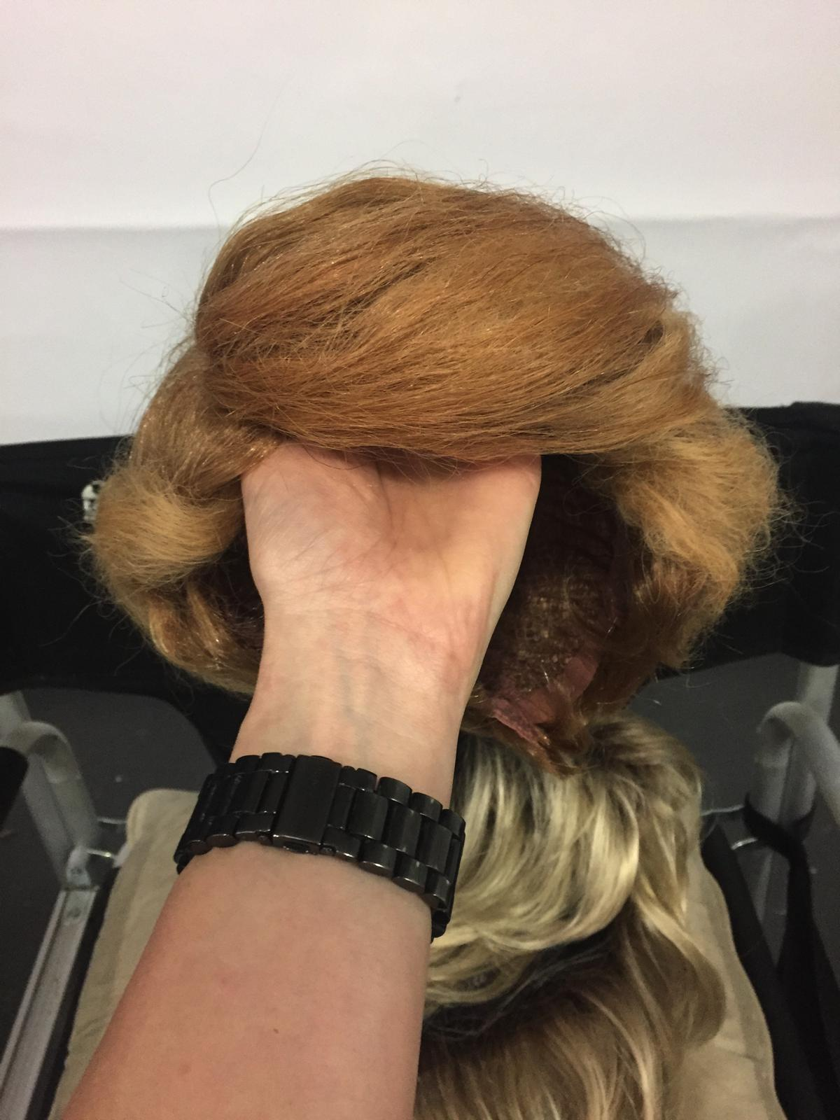 Gross Trump Wig