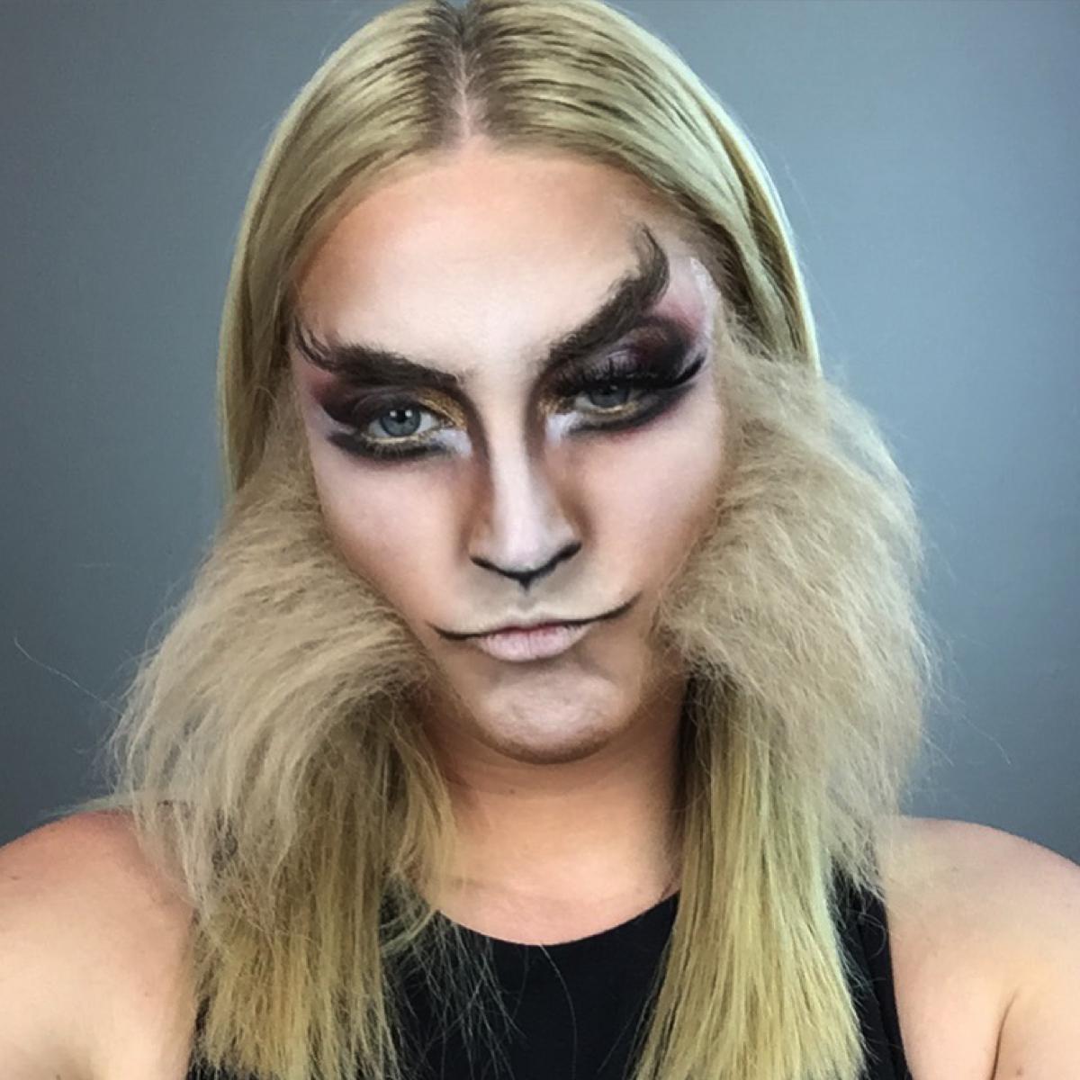 BTS Wolf Makeup