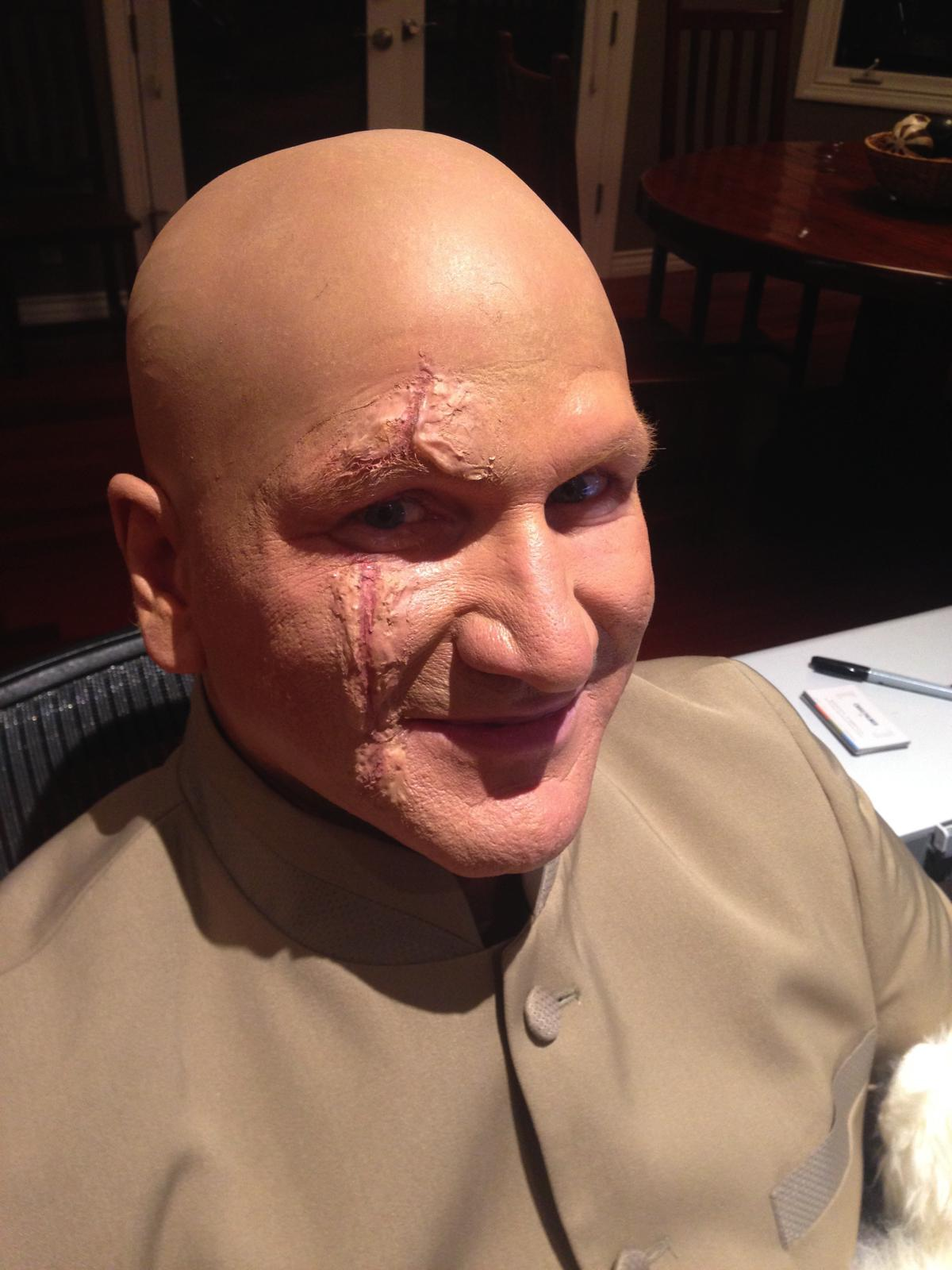 Bald Cap Makeup