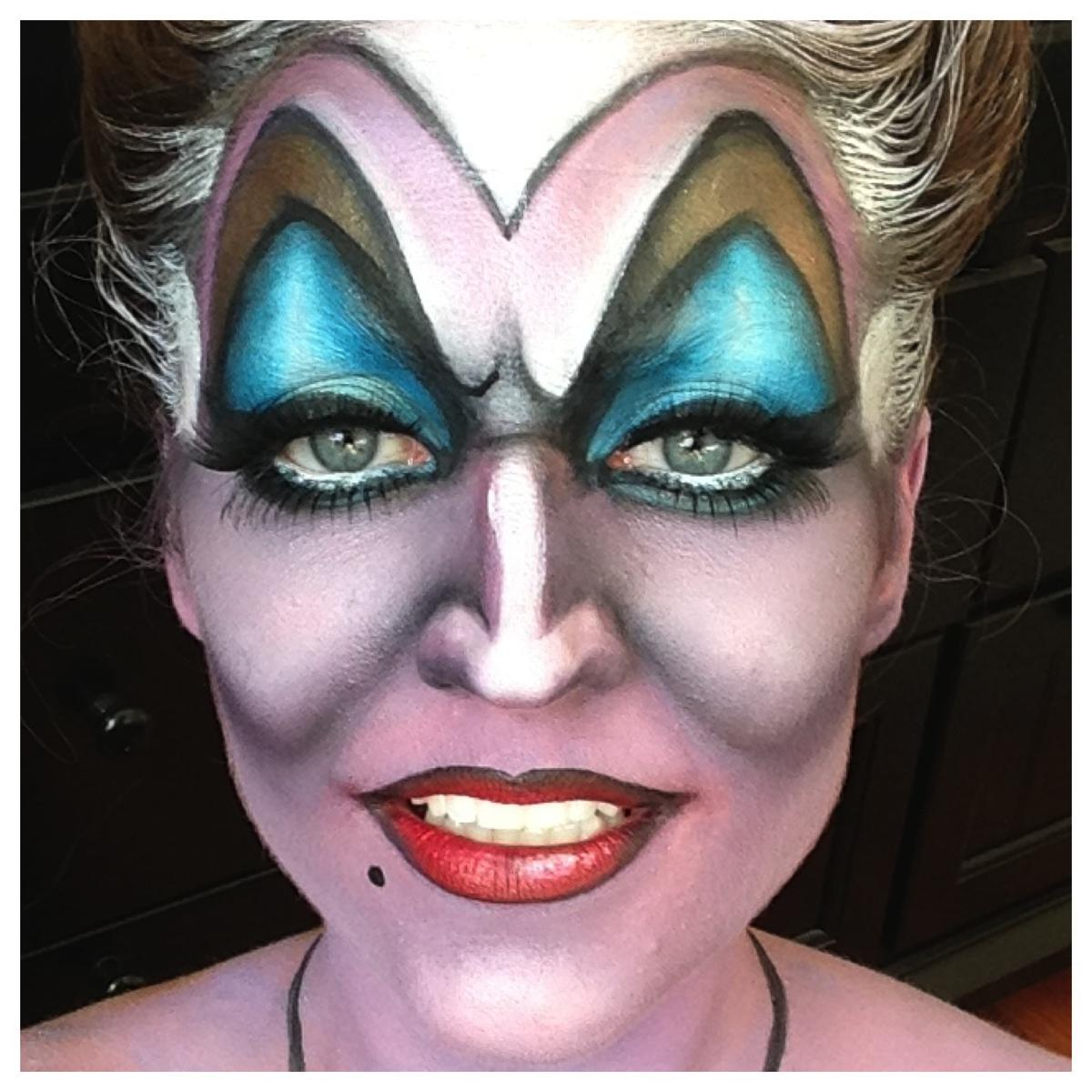 Ursula Disney Makeup